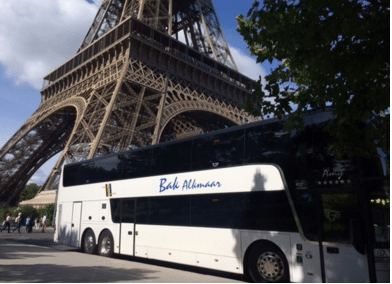 Bakreizen - busvervoer